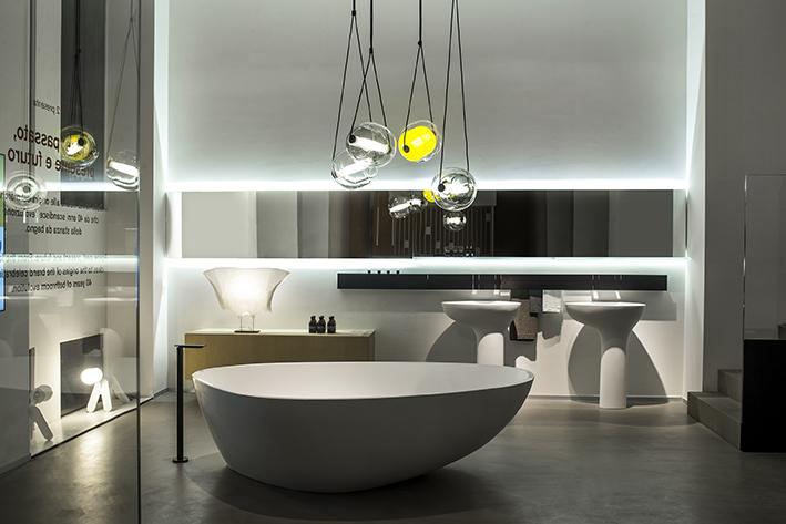 Agape alla design week anni di evoluzione dell arredo bagno