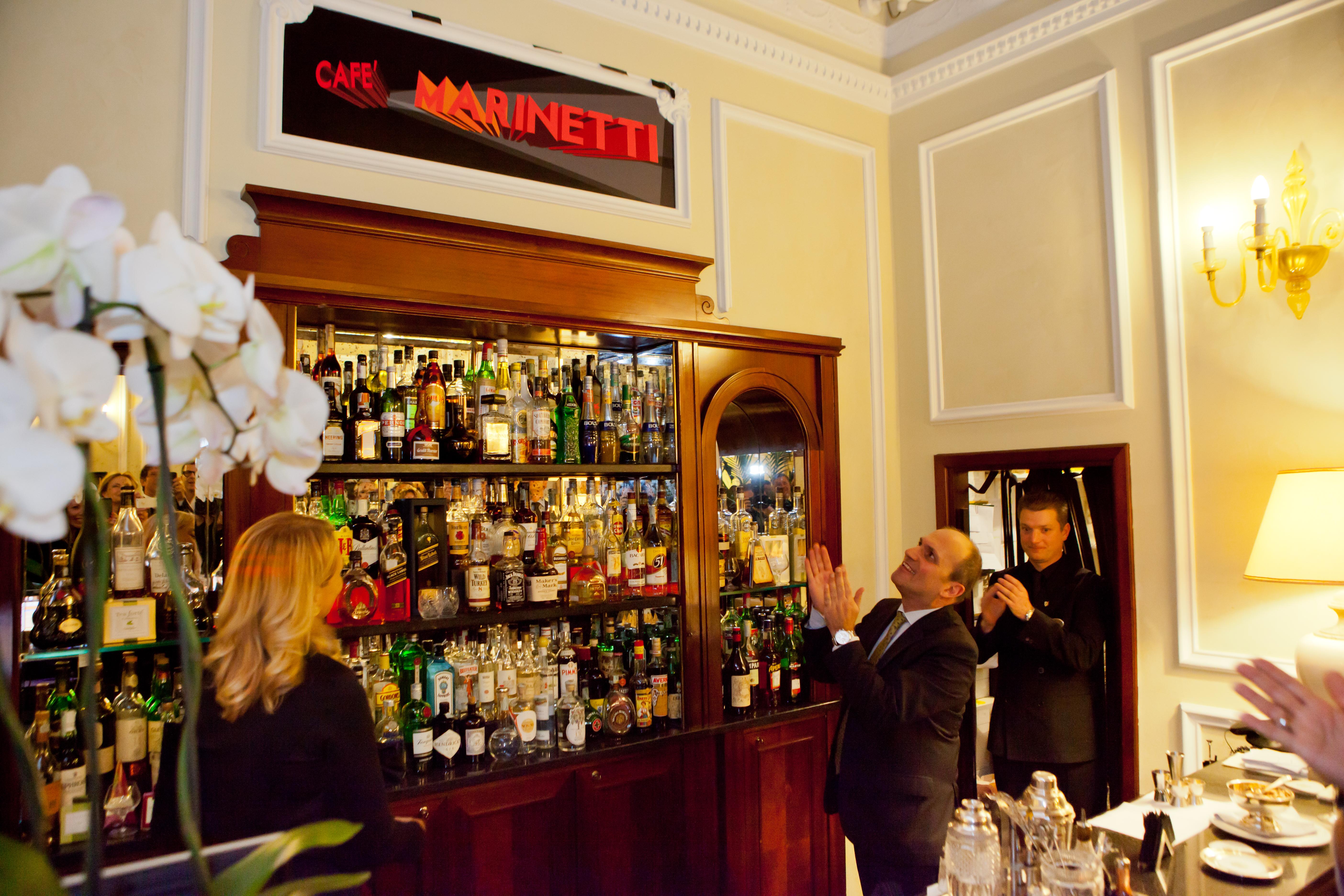SERATA FUTURISTA AL NUOVO CAFÉ MARINETTI DEL GRAND HOTEL MAJESTIC