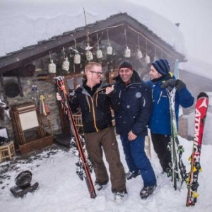 MOUNTAIN GOURMET SKI EXPERIENCE: A COURMAYEUR BLUMENTHAL SERVE UN FORMAT A PROVA DI CHEF