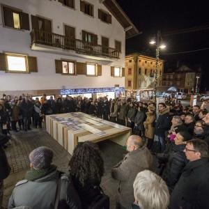 CORTINA: LA GRANDE ARCHITETTURA SCENDE IN PIAZZA