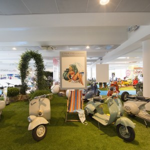 AL VIA #EXHIBITIONVESPA AL MUSEO NICOLIS