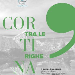 CORTINA TRA LE RIGHE, TERZA EDIZIONE AL VIA L'11 LUGLIO: IL GIORNALISMO DEL FUTURO SI INCONTRA SULLE DOLOMITI