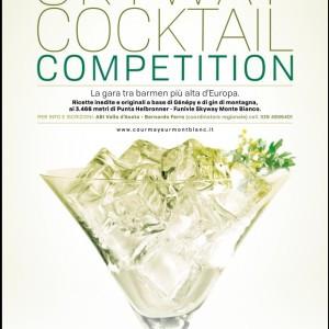 SKYWAY COCKTAIL COMPETITION. A COURMAYEUR 80 BARMEN SI SFIDANO SUL TETTO D'EUROPA