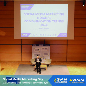 "LA 5° EDIZIONE DEL ""SOCIAL MEDIA MARKETING DAY ITALIA"""