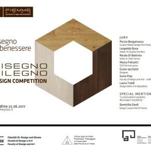 """ON LINE IL BANDO DI CONCORSO """"DISEGNODILEGNO"""""""