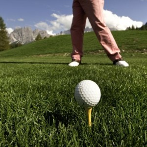 GOLF, ESTATE SUL GREEN DI CORTINA