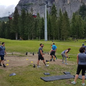 DOLOMITI SUPERSUMMER CROSSFIT WEEKEND: IL TEAM DI COMMITTED (FOX SPORTS) SCOPRE L'ALTA QUOTA