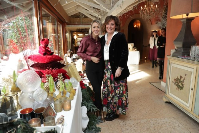 L'Albereta al fianco di Flying Angels Foundation con Christmas Souk Shopping 2018
